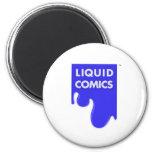 LIQUID COMICS FRIDGE MAGNETS