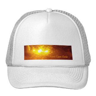 Liquid, Copper, Sunrise - sleek hat