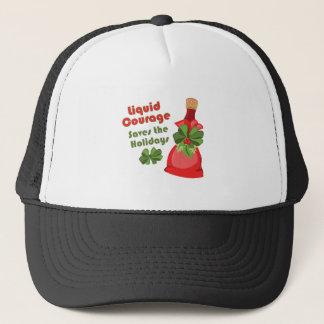 Liquid Courage Trucker Hat
