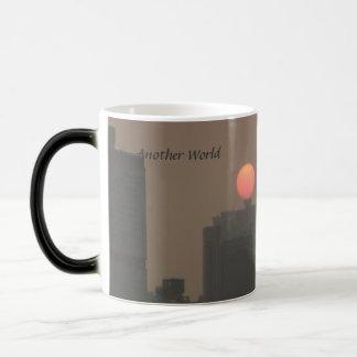 "Liquid Cranium ""Another World"" China sunset mug"