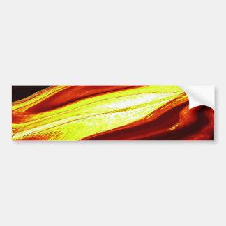 LIQUID FIRE BUMPER STICKER