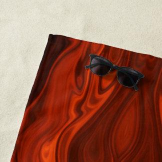 Liquid Fire by Shirley Taylor Beach Towel