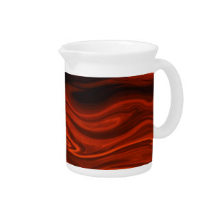 Liquid Fire by Shirley Taylor Beverage Pitchers