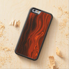 Liquid Fire By Shirley Taylor Carved Maple Iphone 6 Bumper Case at Zazzle