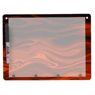 Liquid Fire by Shirley Taylor Dry Erase Board With Keychain Holder