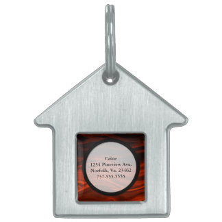 Liquid Fire by Shirley Taylor Pet ID Tag