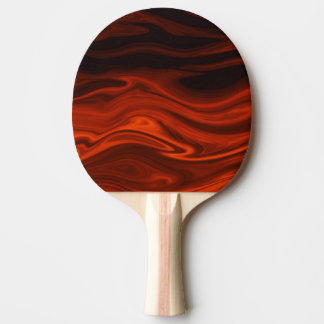 Liquid Fire by Shirley Taylor Ping-Pong Paddle