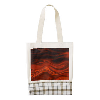 Liquid Fire by Shirley Taylor Zazzle HEART Tote Bag