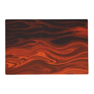 Liquid Fire Laminated Placemat
