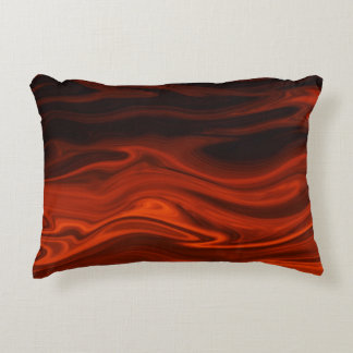 Liquid Fire Accent Pillow