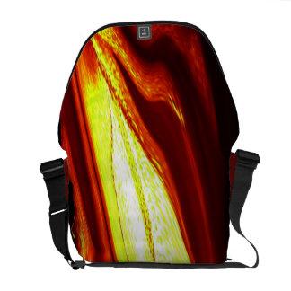 LIQUID FIRE MESSENGER BAG