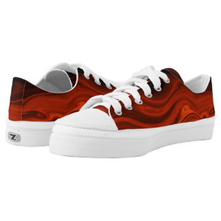 Liquid Fire Printed Shoes