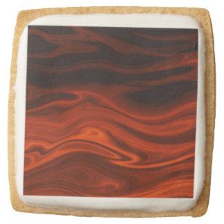 Liquid Fire Square Premium Shortbread Cookie