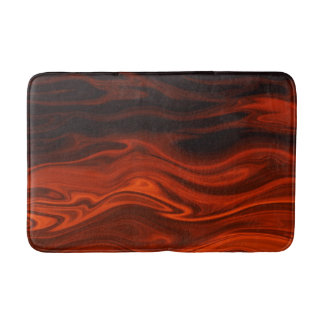 Liquid Fire Bath Mats