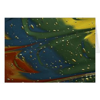 Liquid gels cards
