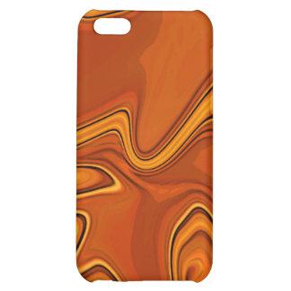 Liquid Gold Abstract Modern Design iPhone 5C Case