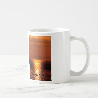 Liquid-Gold, Liquid Gold Coffee Mug