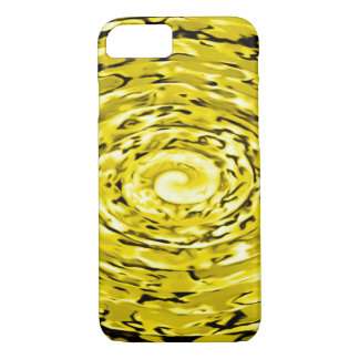 Liquid Gold Storm Paint Abstract Art Custom iPhone iPhone 8/7 Case