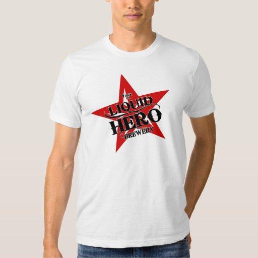 Liquid Hero - Red Label Tee Shirt
