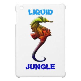 Liquid Jungle ipad seahorse design iPad Mini Covers
