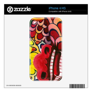 Liquid Library 8 iPhone 4S Decal