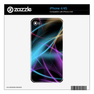 Liquid Lightning Decal For The iPhone 4S