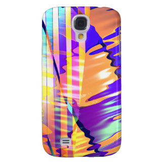 Liquid Lines and Waves Galaxy S4 Covers