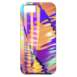 Liquid Lines and Waves iPhone SE/5/5s Case