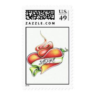 Liquid Love Postage Stamp