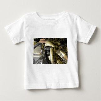 Liquid Metal Baby T-Shirt