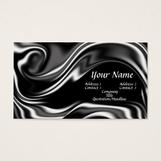 Liquid metal business card