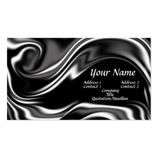 Liquid metal business card
