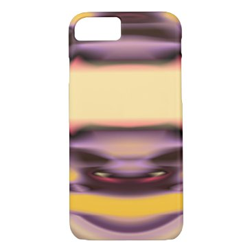 Liquid Molten Metal Retro Set D (006) iPhone 8/7 Case
