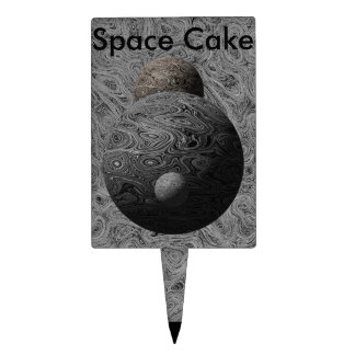 Liquid Moon Collection Cake Topper