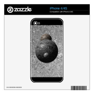 Liquid Moon Collection Decal For iPhone 4