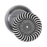liquid - Op Art Button