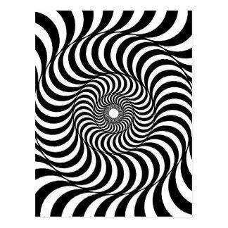 liquid - Op Art Postcard