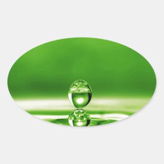 Liquid Photography - Poison Tonic Oval Sticker