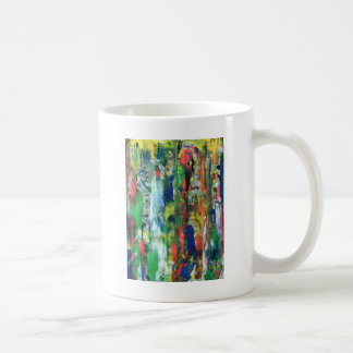 liquid pollution from rockface coffee mug