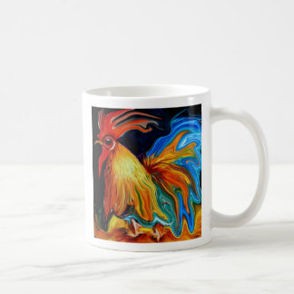 liquid rooster, liquid rooster coffee mug