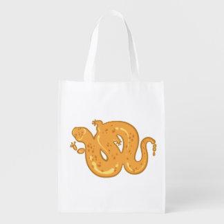 Liquid Salamander Grocery Bag