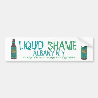 Liquid Shame 'Microbrew'  Bumper Sticker