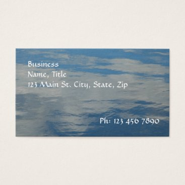 Professional Business Liquid Sky Business Card