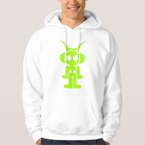 LIQUID SKY HOOD (green print ) Hoodie