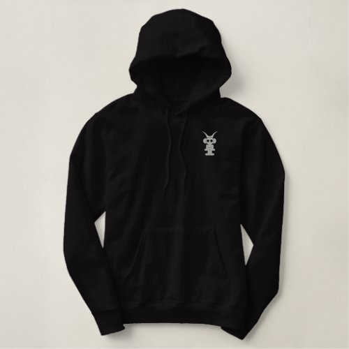 LIQUID SKY NYC LOGO FRONT/BACK EMBROIDERED HOODIE