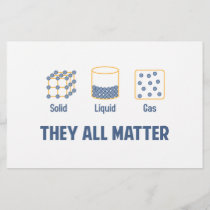 Liquid Solid Gas - They All Matter