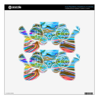 Liquid Texture Decal For PS3 Controller