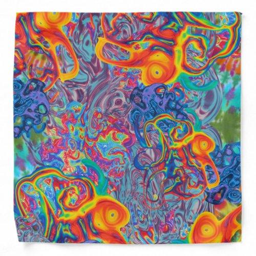 Liquid Tie Dye Bandana
