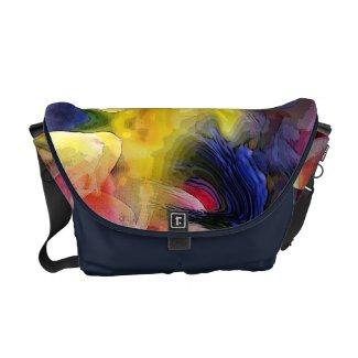 Liquid Tulip Colors Abstract Commuter Bag