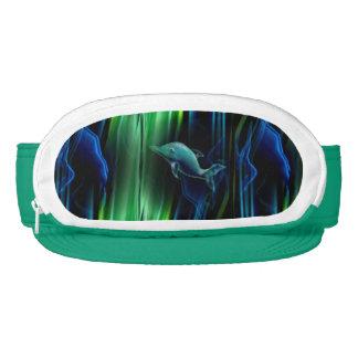 Liquid Vibrations Dolphin Neon Visor
